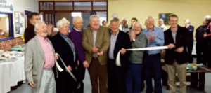 The entire Ballina and it's region's community turned out in force to attend the official opening of the Ballina Men's Shed Club's wonderful new centre in the town's former Estoria Cinema. Attending the opening were Collrs Seamus Weir, Annie May Reape, Garda Declan Casey, Seamus Smyth, Garda John Barrett, Collr Michael Loftus, Stanley McAndrew, Mickey Bergin and Fr. Liam Reilly.